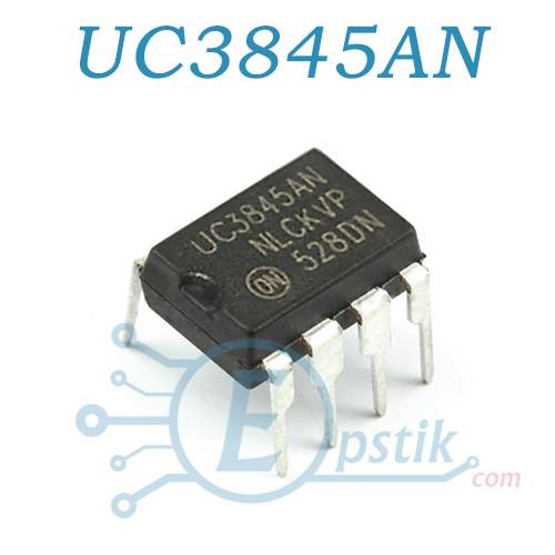UC3845BN, ШИМ контроллер, DIP8