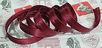 Косая бейка  марсала,  1,5см,  100м