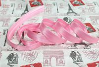 Косая бейка  розовая ,  1,5см,  100м