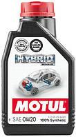 Масло моторное Motul HYBRID SAE 0W20, 1L