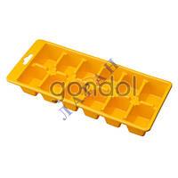 Форма для льда 1/2 цв. б/крыш G100