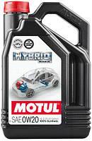 Масло моторное Motul HYBRID SAE 0W20, 4L