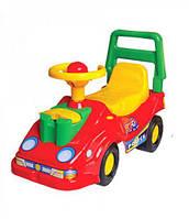 Машинка-каталка ТехноК с телефоном (красная)