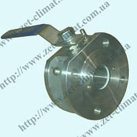 Кран шаровой фланцевый ZET нж Ду 15 - Ду 100