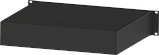 Корпус металевий Rack 2U, модель MB-2370SP (Ш483(432) Г372 В88) чорний, RAL9005(Black textured), фото 2