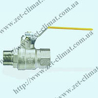 Кран IVR 101 ду 15 - ду 50 муфтовый латунный ВН (газ)