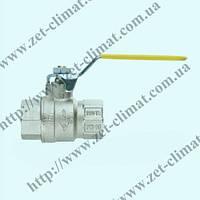 Кран IVR 100 ду 15 - ду 50 муфтовый латунный ВВ (газ)