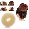 Валик (бублик) для волос S малый d  5 см 12 шт/уп, фото 4