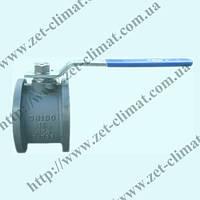 Кран шаровой ZET фланцевый стальной ду 15 - ду 200 (газ)