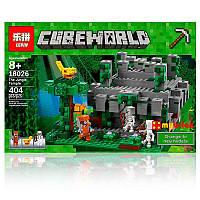 "Lepin 18026 Cubeworld ""Храм в джунглях"""