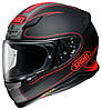 "Шлем Shoei NXR FLAGGER TC-1 black\red ""S"", арт. 1112126"