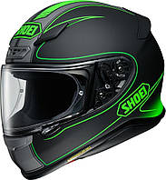 "Шлем Shoei NXR FLAGGER TC-4 black\green ""M"", арт. 1112127"