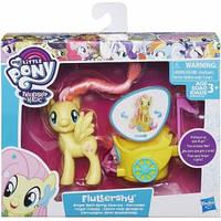 Мой маленький пони - пони в карете - Флаттершай