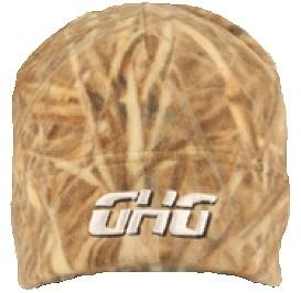 Шапка флисовая Avery Greenhead Gear Camouflage Fleece Skull Cap