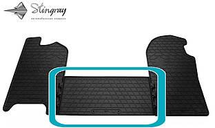 Iveco Daily V 2011- Передний средний коврик Черный в салон. Доставка по всей Украине. Оплата при получении
