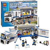"""Конструктор Bela 10420 (аналог Lego City 60044) """"Мобильный отряд полиции"""", 394 дет, фото 1"""