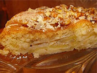 Яблочный пирог без масла
