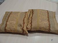 Комплект подушек Рельеф коричневые и песочные, 2 шт, фото 1