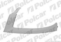 Накладка (ресничка) под фару левая 05-10 FIAT Doblo 01- не оригинал