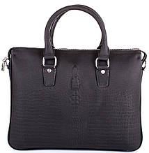 Кожаный портфель для ноутбука TOFIONNO TU8801-2-black