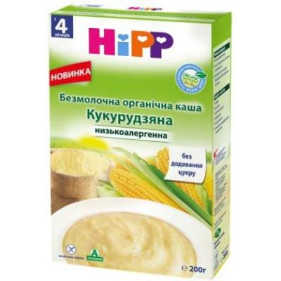 Hipp Безмолочна органічна каша «Кукурудзяна» с 4 мес