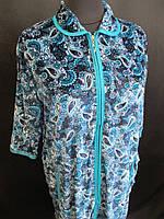 Жіночі халати з коміром великого розміру., фото 1