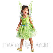 Карнавальний костюм Tinkerbell Дінь-Дінь + сяючі крила Дісней/ Disney