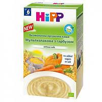 Hipp Безмолочна органічна каша «Мультизлакова з гарбузом»