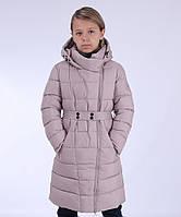 Зимнее пальто для девочки на тинсулейте Snowimage 140,146,152,158,164