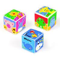 Игрушка Baby Mix Кубики для игр в ванной GS-102S