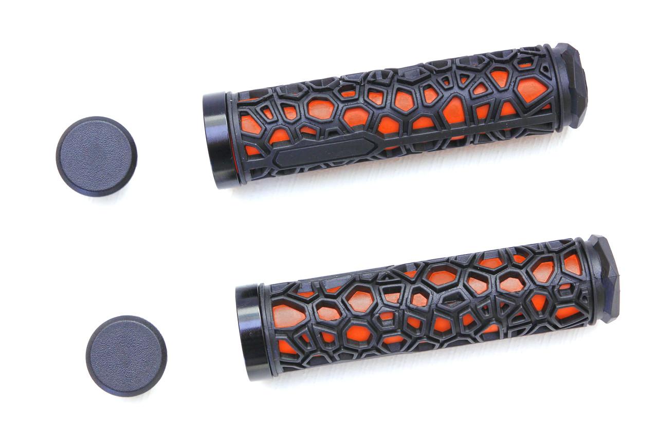 Грипсы RockBros H2O, черно-оранжевые