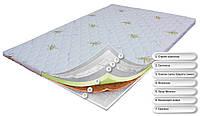 Для устранения дефектов спального места. Memory + кокос + симтекс.  OrthoSlim5. Высота 9 см.
