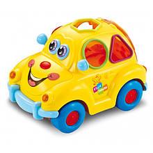 Игрушка Baby Mix PL-188906 Автомобиль yellow