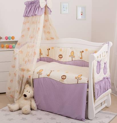 Детская постель Twins Comfort Африка С-003 violet , фото 2