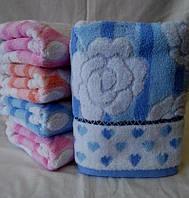 """Махровое полотенце для кухни """"Бантик"""". Оригинальные наборы кухонных полотенец. Полотенца кухня"""