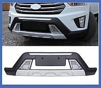 Hyundai Creta (2014+) Передняя и задняя накладки (2 шт)