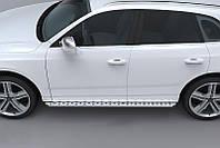 Audi Q5 2008+ и 2012+ гг. Боковые площадки ABT (2 шт, алюминий)