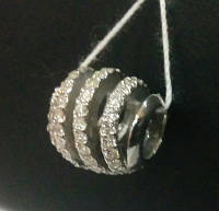 """Серебряная подвеска-шарм Пандора (Pandora) """"Спираль, бесконечность"""" для браслета"""