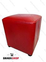 Пуф квадрат красный