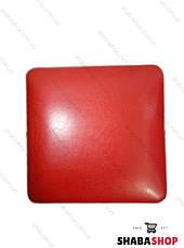 Пуф квадрат червоний, фото 3