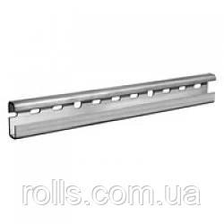 Шина алюминиевая монтажная для водосточной системы Rheinzink, сечение С 48*18мм, длина 3м