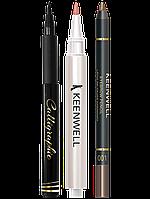 Набор Подводка для глаз + сыворотка для губ + карандаш для бровей (2г + 2.5г + 1.5г)