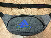 Сумка на пояс adidas Адидаc ткань катион матовый/Спортивные барсетки Сумка женский(мужские)Бананка только опто