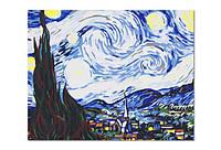 Холст Рисование по номерам 40*50см Ван Гог в коробке