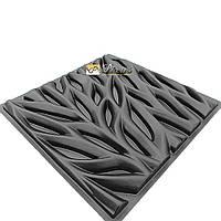 """Пластиковая форма для 3D панелей """"Веточки"""""""