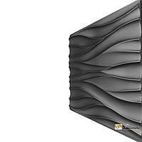 "Пластиковая форма для 3D панелей ""Волна"" (форма для 3д панелей из абс пластика)"