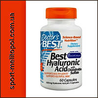 Doctor's BEST Hyaluronic Acid with Chondroitin Sulfate 60 caps