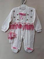 Детский костюм-человечек для девочки (3, 6, 9 мес.) купить потом в Украине