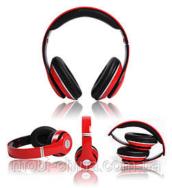 Беспроводные наушники P15 WIRELESS HEADPHONE (monster beats solo 2) c FM/MP3/SD/микрофон, RED