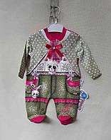 Детский костюм для девочки (3, 6, 9 мес) купить оптом от производителя